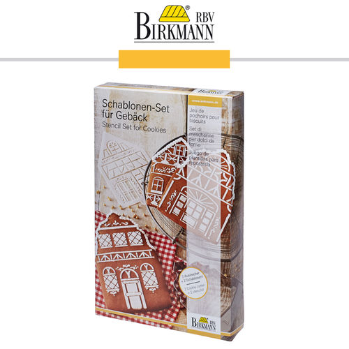 RBV Birkmann - Stencil Set for Cookies Winter Village