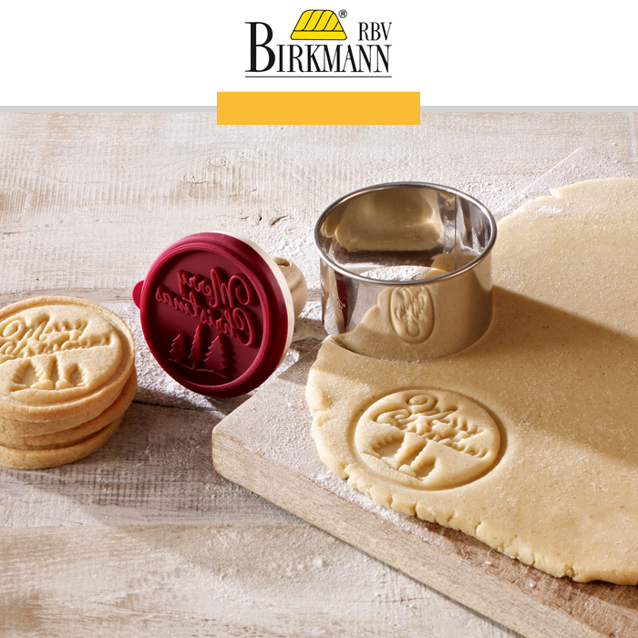 RBV Birkmann - Cookie Stamp Merry Christmas - Cookfunky