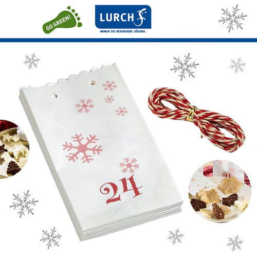 Lurch - Flexiform Advent calendar - Set of 24 Paper Bags