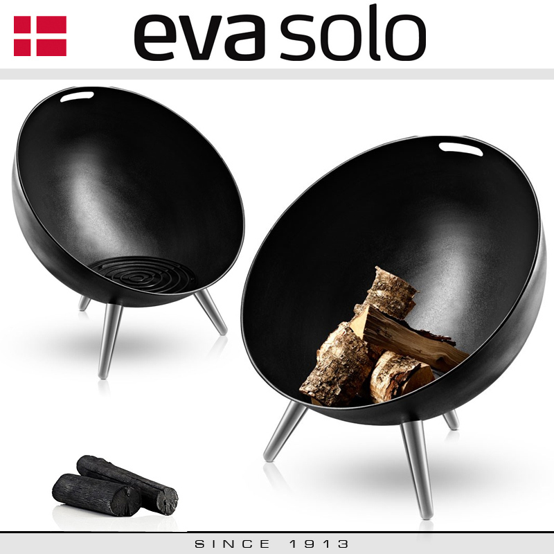 eva solo fireglobe feuerschale 64 cm culinaris. Black Bedroom Furniture Sets. Home Design Ideas