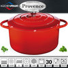Küchenprofi - PROVENCE - round French Oven - red