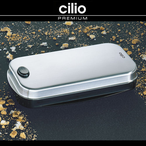 cilio - Table crumb remover - Stainless steel satin finish