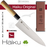 CHROMA Haiku Original Set - Kochmesser H-06 + Schleifstein H-11