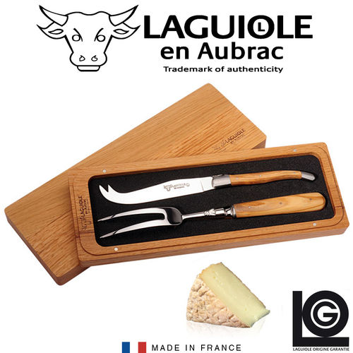 Laguiole - Cheese knife set 2 pcs