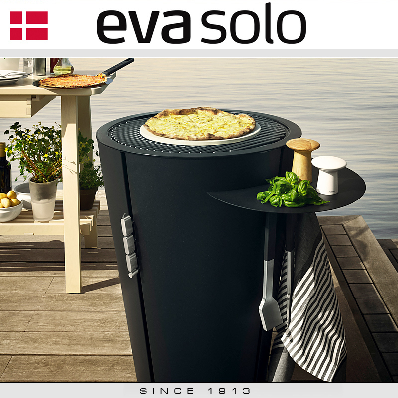 eva solo gas grill 59 cm black bbq cookfunky. Black Bedroom Furniture Sets. Home Design Ideas