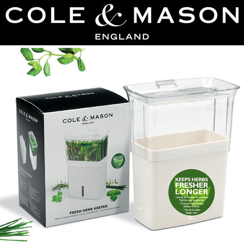 COLE & MASON - Fresh Cut Herb Keeper