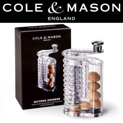 COLE & MASON - Wallis Acrylic Nutmeg Mill