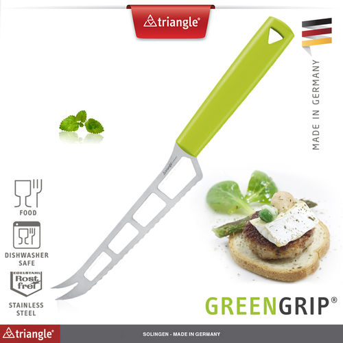 Triangle® - Käsemesser - GreenGrip