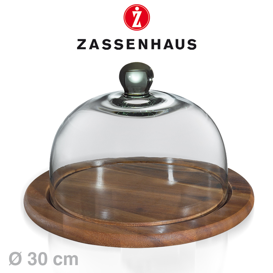 Glass Dome Cooker ~ Zassenhaus glass dome for cheese Ø cm cookfunky