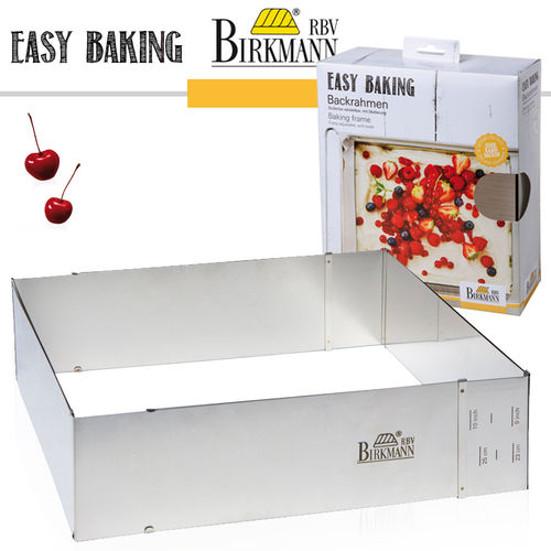 RBV Birkmann - Backrahmen, verstellbar - Easy Baking
