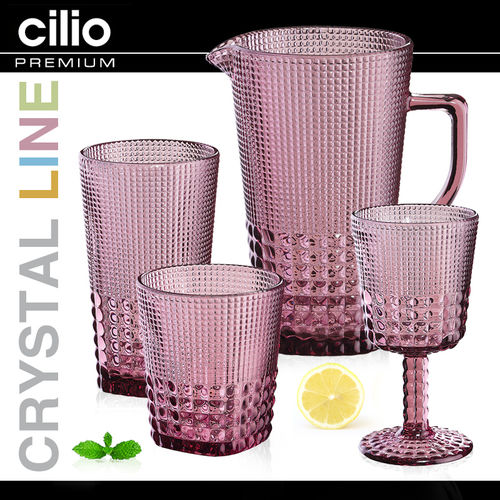 cilio - Glass collection Crystal-Line - viola