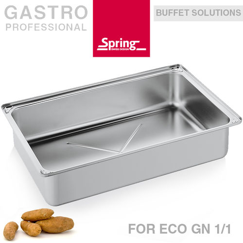 Spring - water pan for Chafing Dish ECO GN 1/1