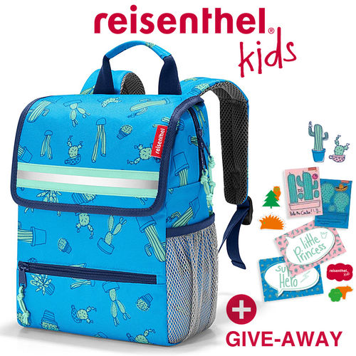 reisenthel - backpack - kids - cactus blue