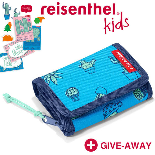 reisenthel - wallet S - kids - cactus blue