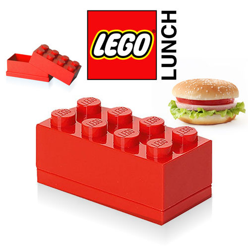 LEGO - Mini Box 8 - Rot