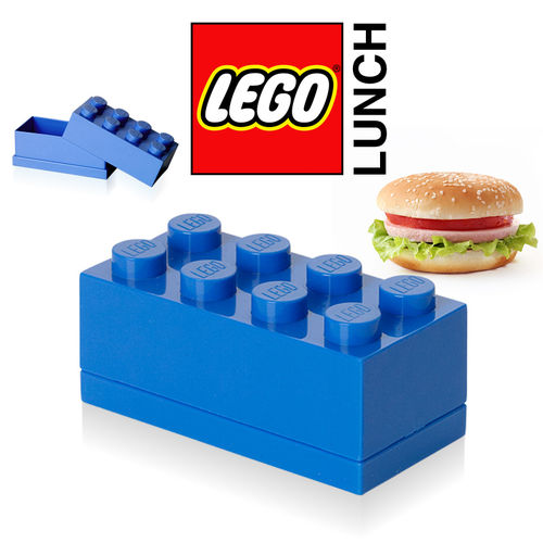 LEGO - Mini Box 8 - Blau