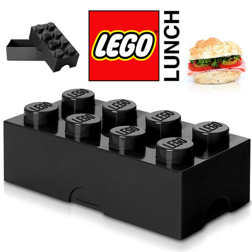 LEGO - Lunch Box - Schwarz