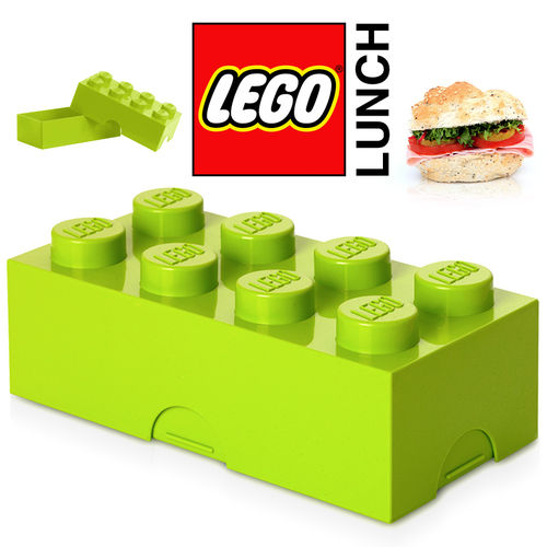 LEGO - Lunch Box - Hellgrün
