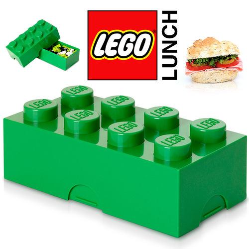 LEGO - Lunch Box - Grün