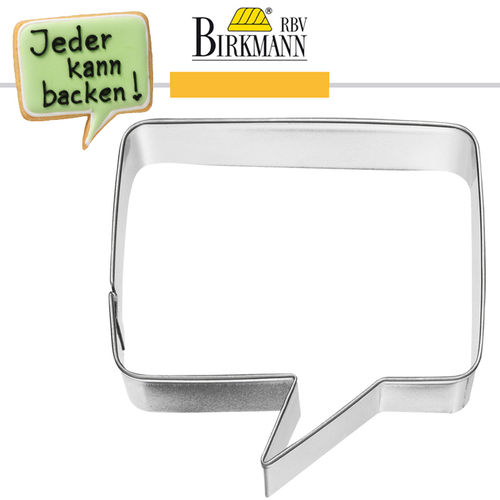 RBV Birkmann - Speech Bubble 7,1 cm