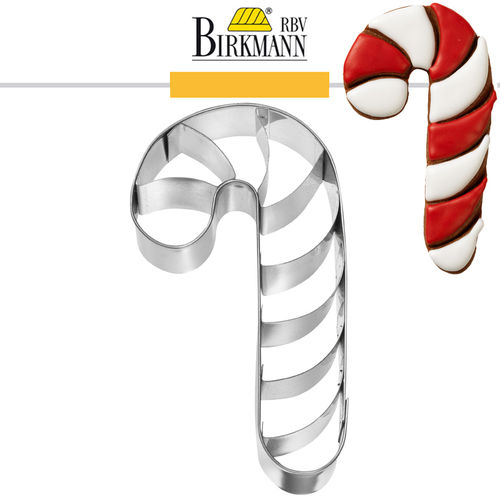 RBV Birkmann - Candy Cane with inside embossed 11 cm