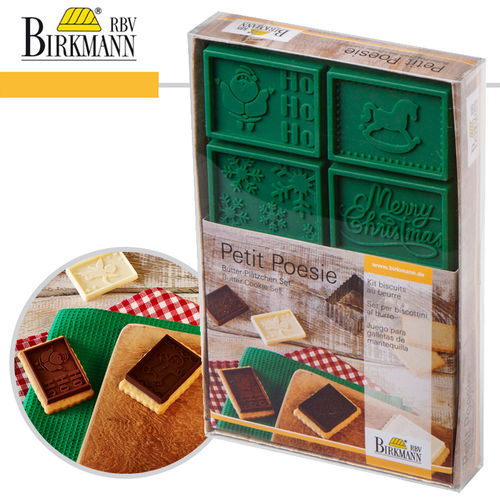 RBV Birkmann - Cookie Set 2 of 2 Petit Poésie Christmas