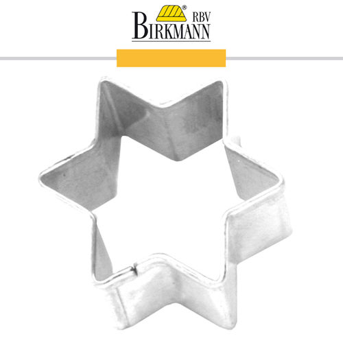 RBV Birkmann - gingerbread shape star 10 cm