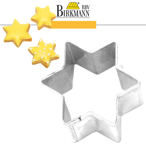 RBV Birkmann - Gingerbread cookie cutter star 9 cm