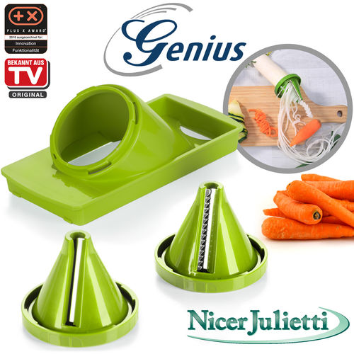 Genius - Nicer Julietti Set 3tlg kiwi