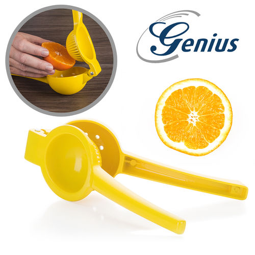 Genius - Citrus press - medium yellow