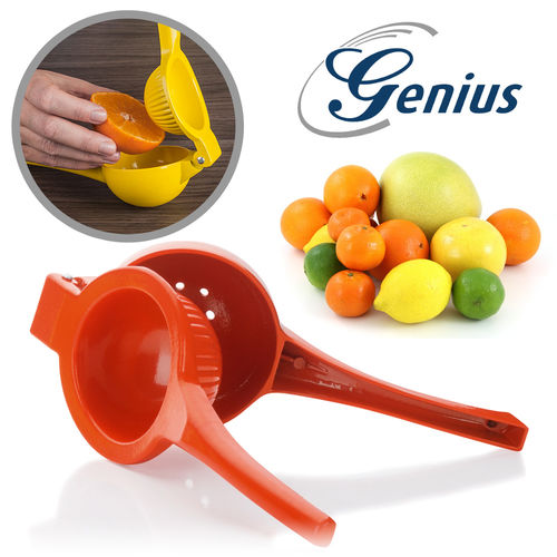 Genius - Zitruspresse - groß orange