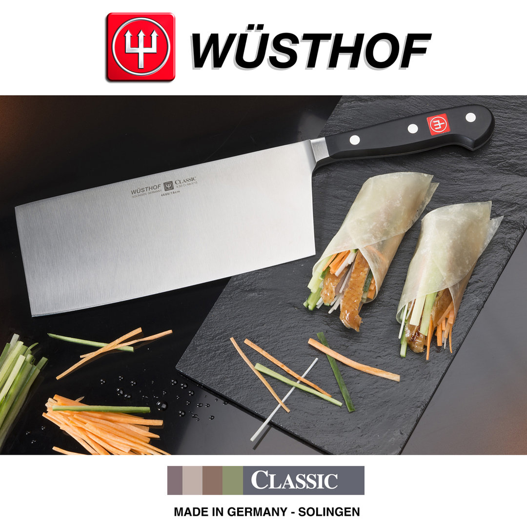 w sthof classic chinese chef s knife 18 cm chef 39 s knife. Black Bedroom Furniture Sets. Home Design Ideas