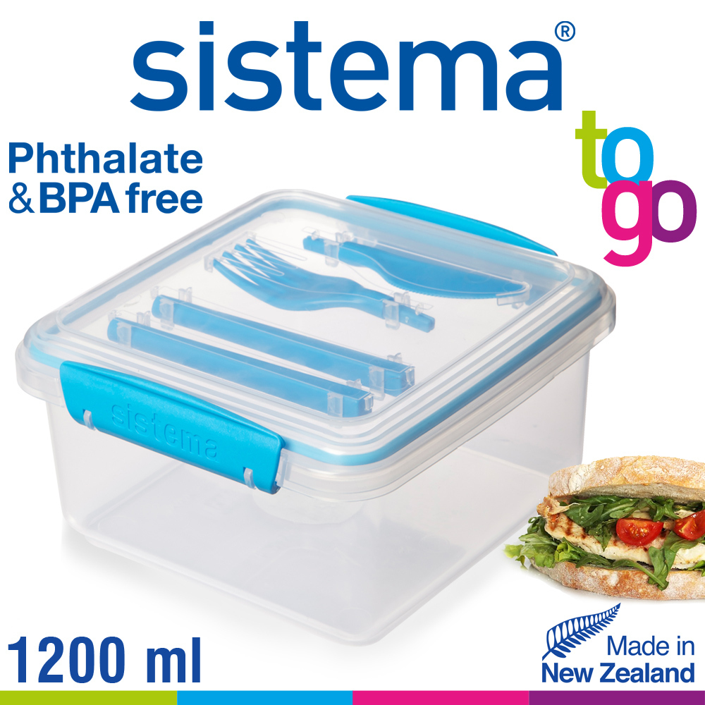 sistema - Lunch Plus To Go - 1.2 L - Cookfunky