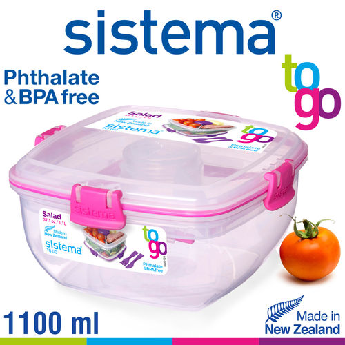 sistema - Salad box To Go - 1.1 L