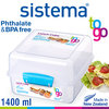 sistema - Lunch Cube To Go - 1400 ml