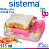 sistema - Snack Attack Duo To Go - 975 ml