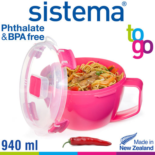 sistema - Nudelschale To Go - 940 ml