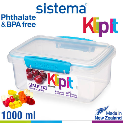 sistema - Klip It Frischhaltedose - 1000 ml