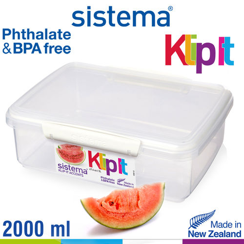 sistema - Klip It Frischhaltedose - 2000 ml