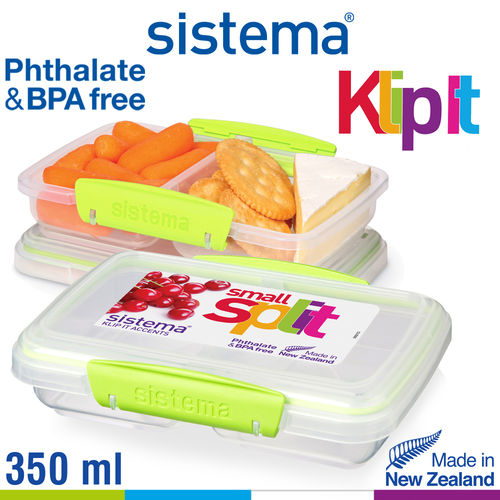 sistema - Klip It Frischhaltedose Split - 350 ml