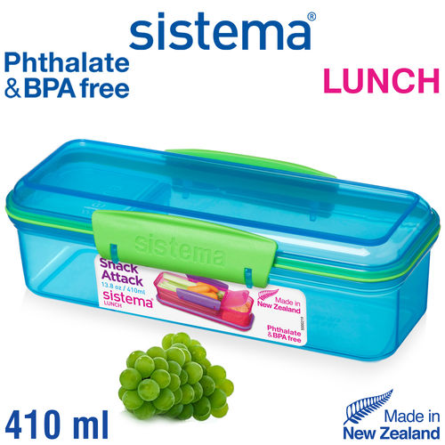 sistema - Snack Attack Lunch - 410 ml