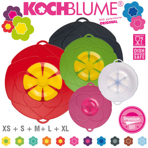 Kochblume - Set of 5 Spill Stopper - XS + S + M + L + XL