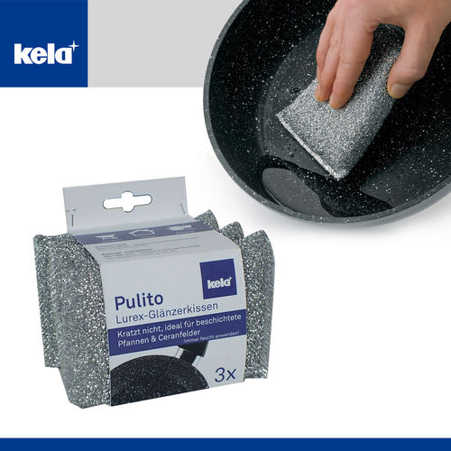 Kela - Glitter Cushion Pulito 3pcs.