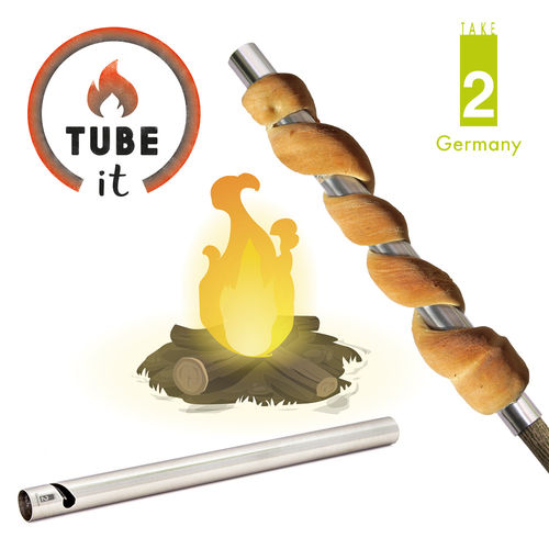 "Take2 - ""Tube-it"" 2er Set Stockbrot-Grillrohr"