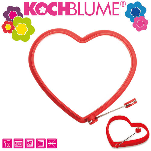 Kochblume - Egg Form - Heart