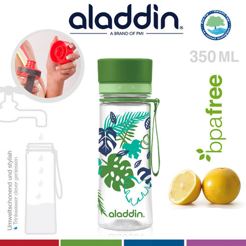 aladdin - Aveo Trinkflasche - Green Graphics 350 ml