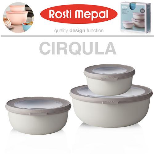 Rosti Mepal - Multi Bowl Cirqula Set small 3pcs