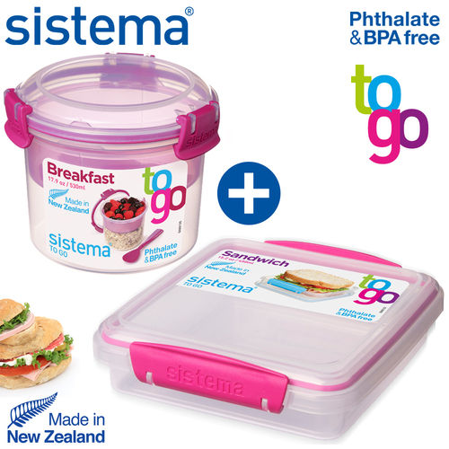 sistema - Breakfast + Sandwich TO GO