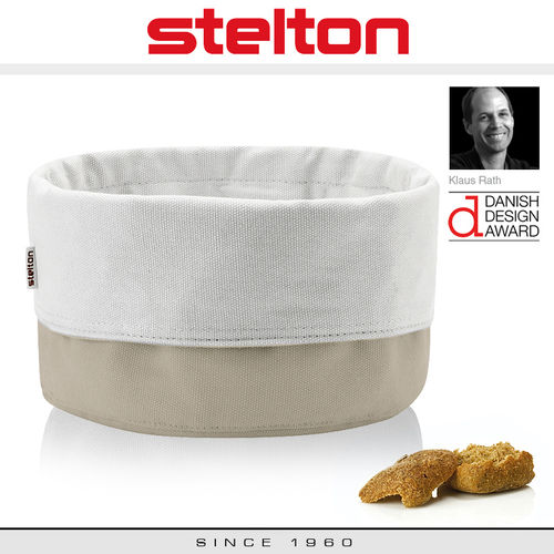 Stelton - Bread Bag - Sand/White