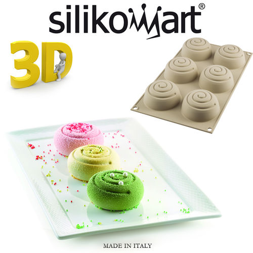 Silikomart - 3d mould Mini Girotondo